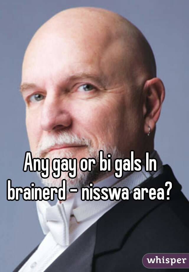 Any gay or bi gals In brainerd - nisswa area?