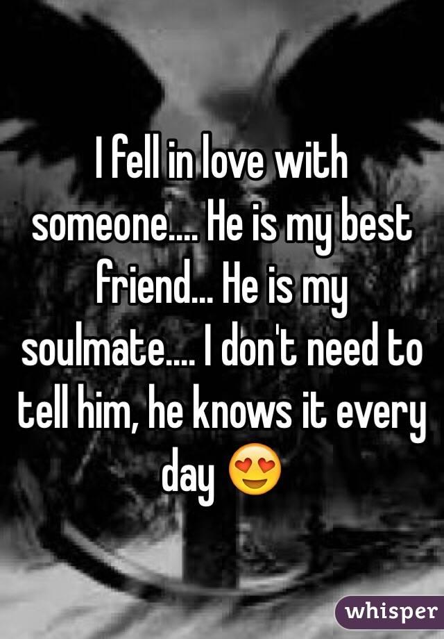 He is my soulmate