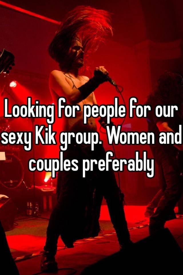 women looking to kik