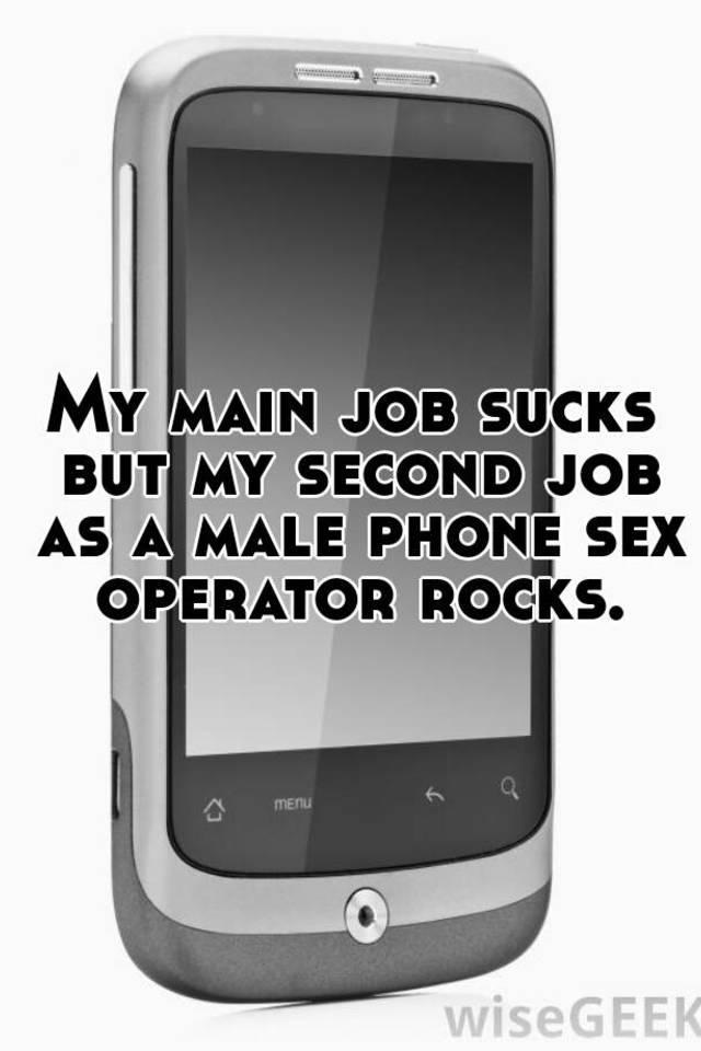 Male phone sex operators jobs
