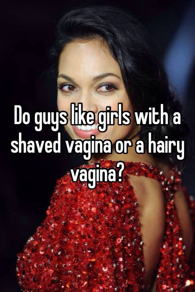 do guys like hairy