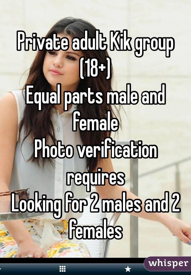 Kik 18 females