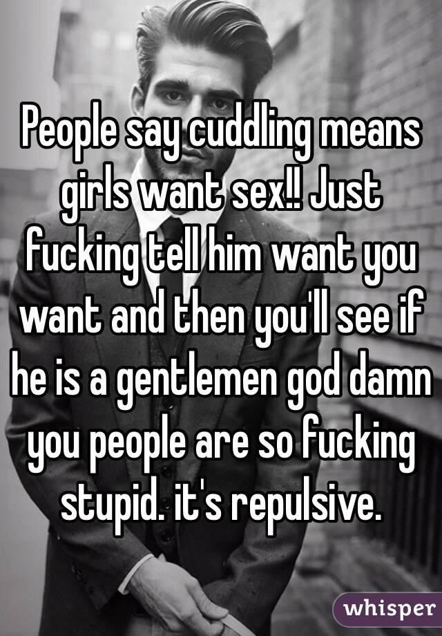 just fucking girls