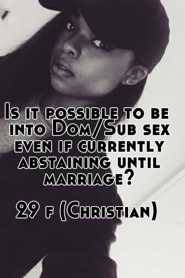 African americans abstaining from sex until marriage