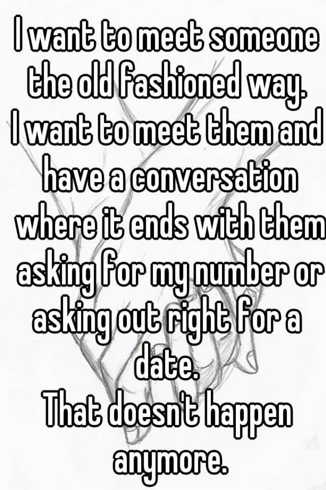 Where to meet someone