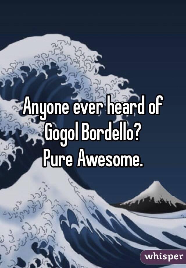 Anyone ever heard of Gogol Bordello?  Pure Awesome.