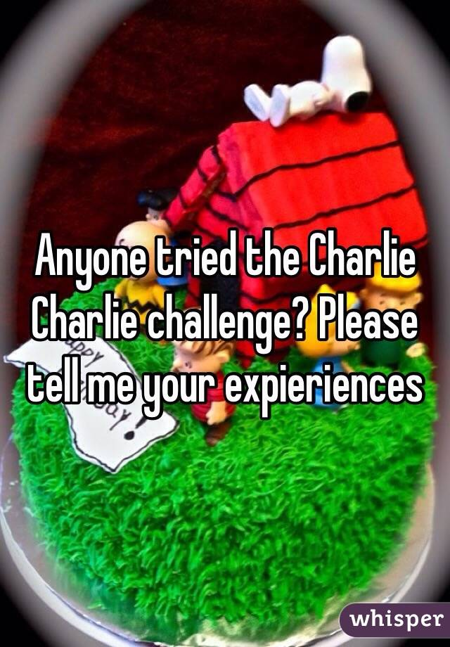 Anyone tried the Charlie Charlie challenge? Please tell me your expieriences