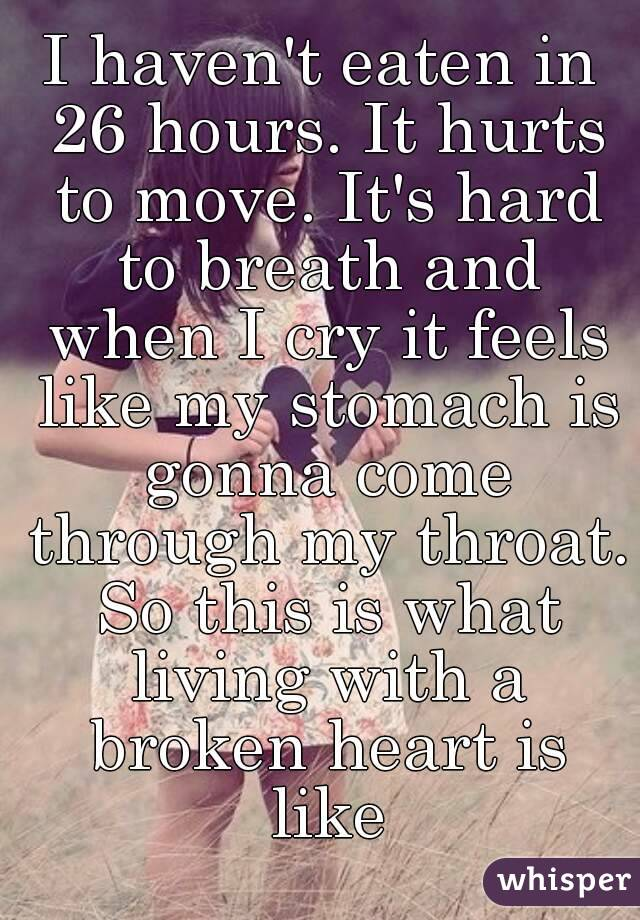 How can i move on from a broken heart