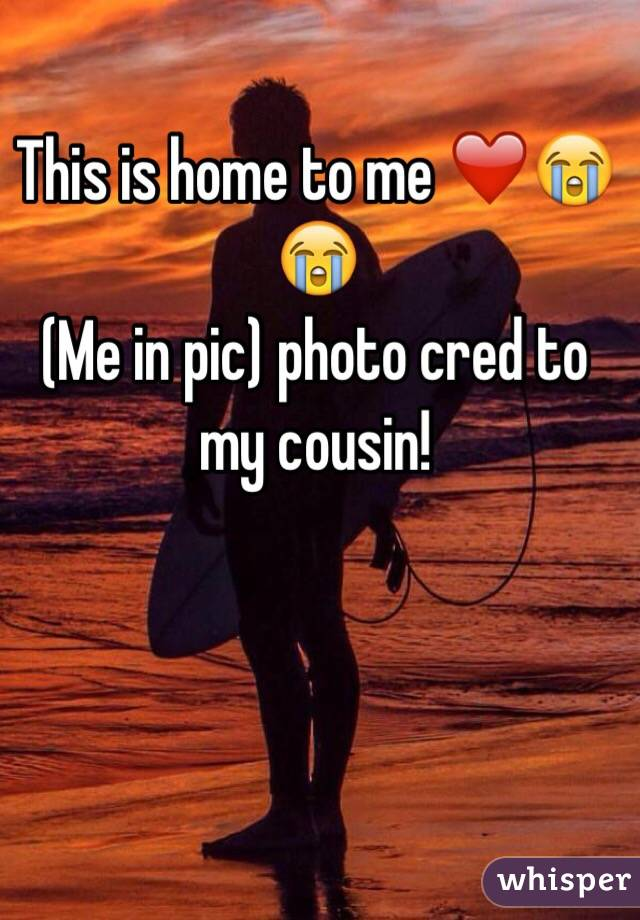 This is home to me ❤️😭😭 (Me in pic) photo cred to my cousin!