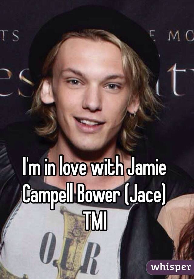 I'm in love with Jamie Campell Bower (Jace) TMI