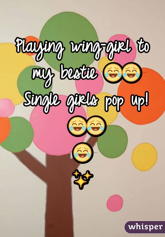 Playing wing-girl to my bestie 😂😂 Single girls pop up! 😂😂😂✨