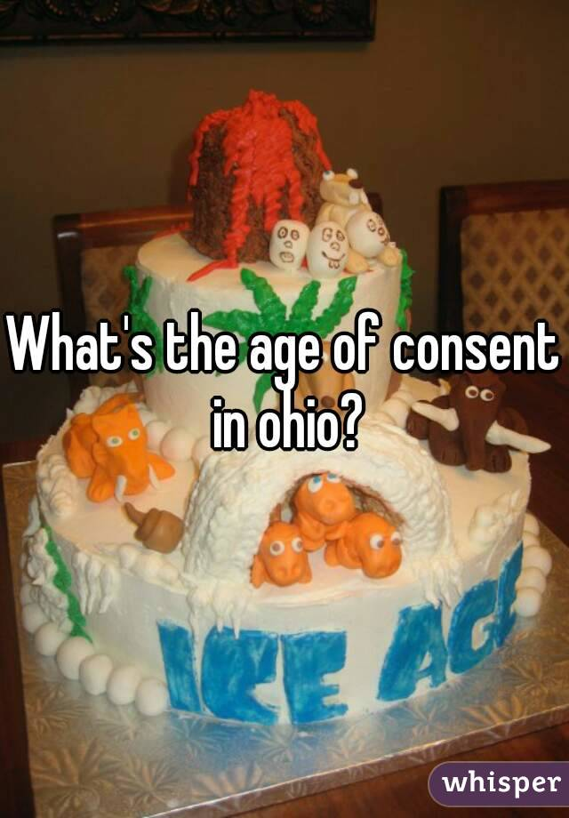 What's the age of consent in ohio?