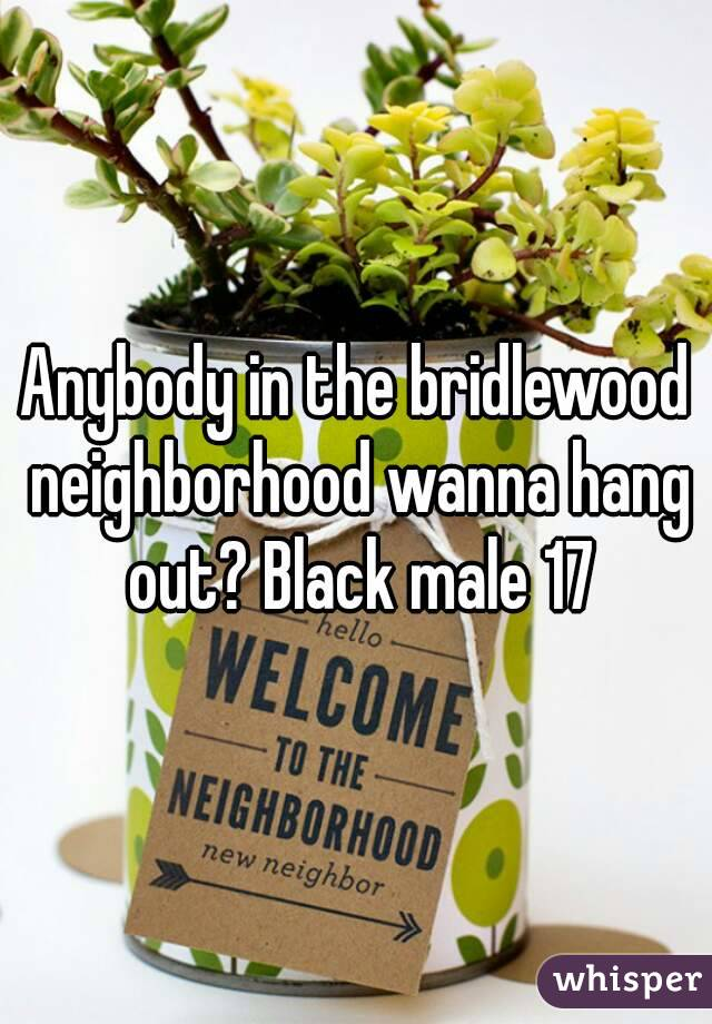 Anybody in the bridlewood neighborhood wanna hang out? Black male 17