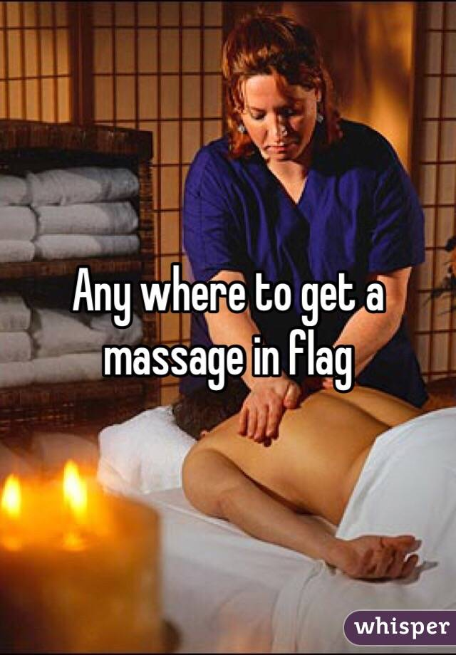 Any where to get a massage in flag