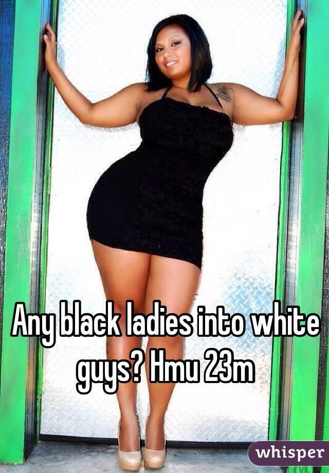 Any black ladies into white guys? Hmu 23m