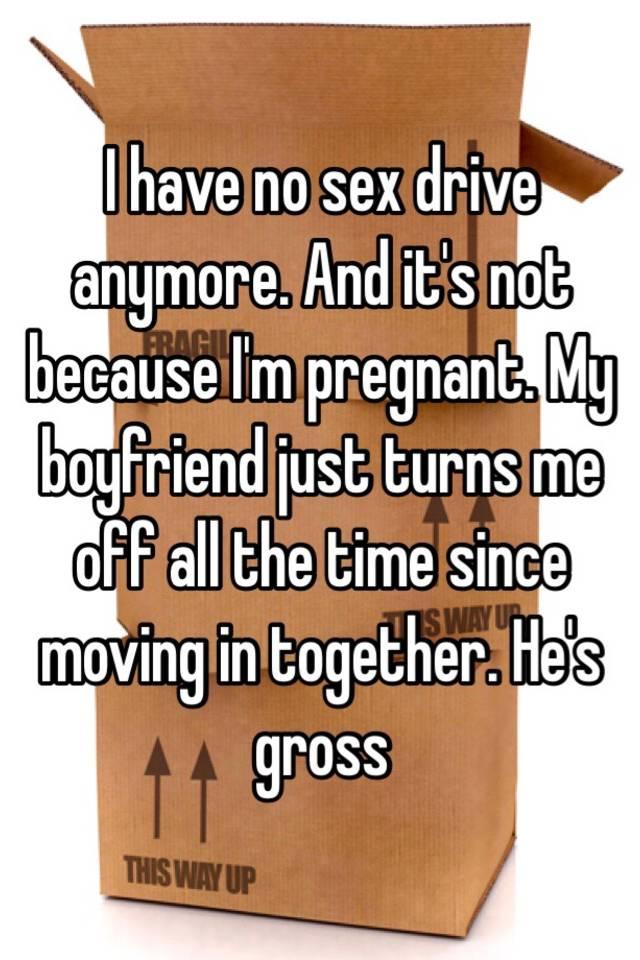 no sex drive with boyfriend
