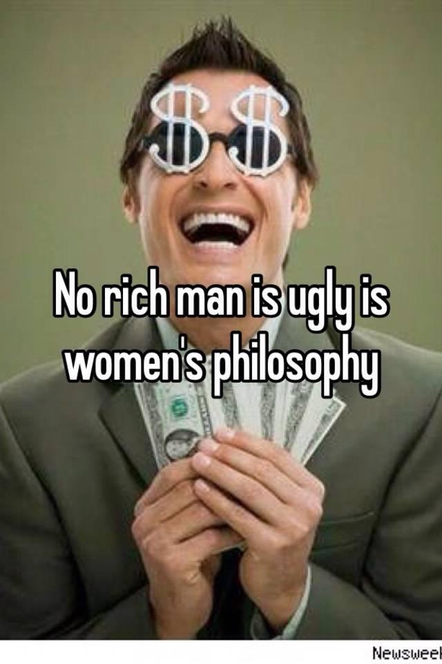 Ugly rich man