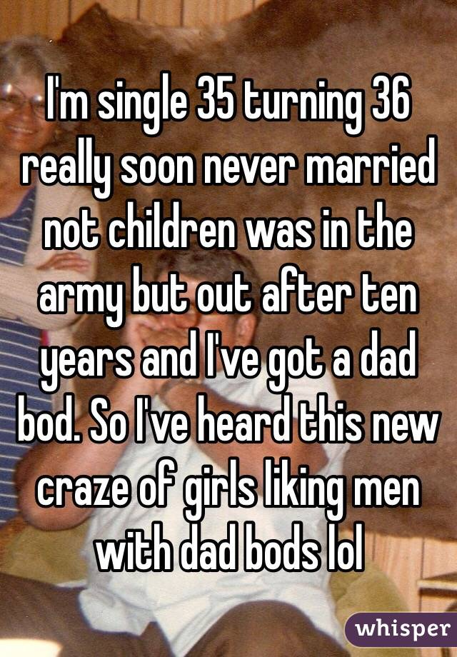 i m 35 and single