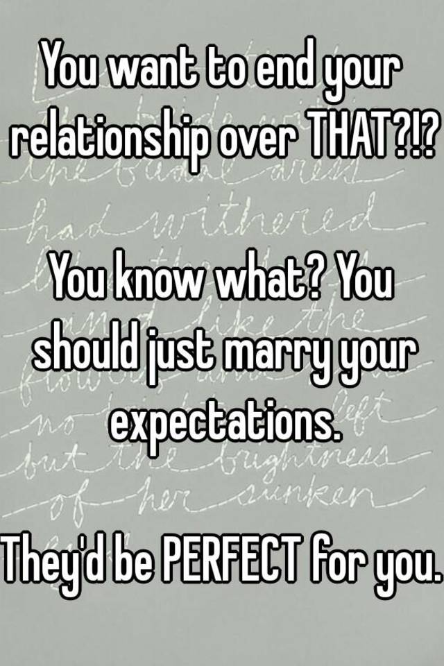 when to know a relationship is over