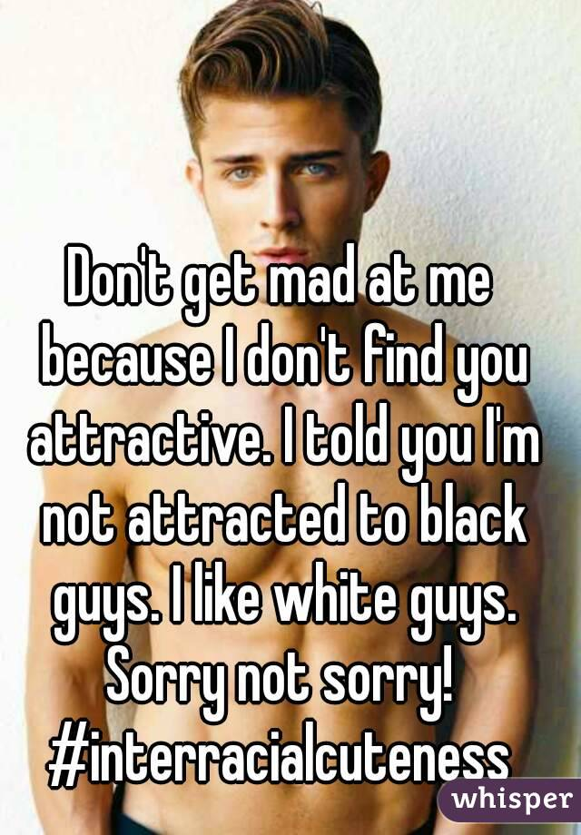 Attracted to black guys