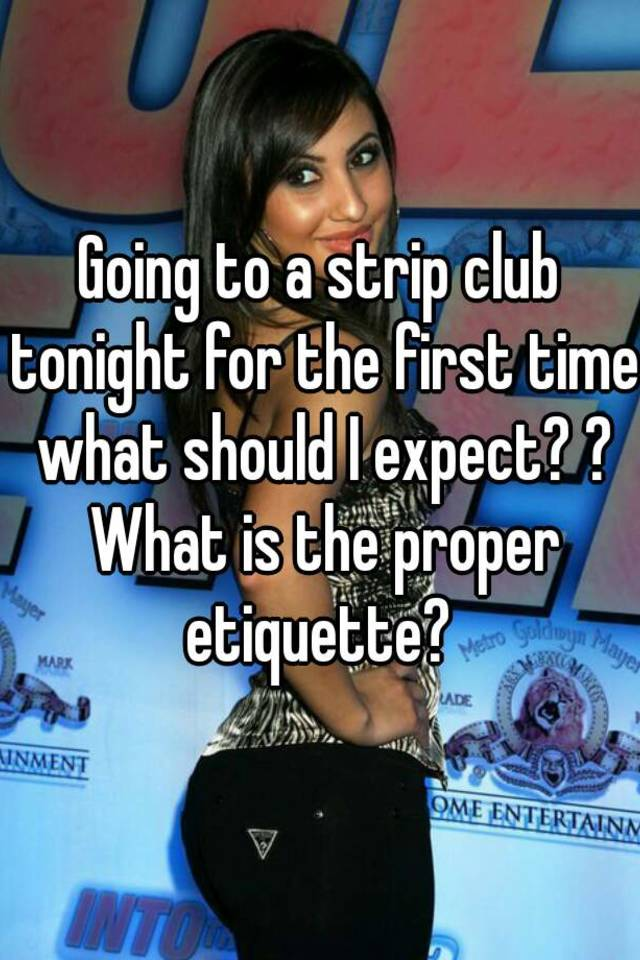 First time at a strip club