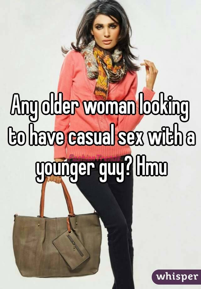 Casual sex with older women