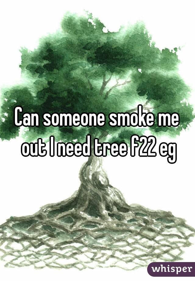 Can someone smoke me out I need tree f22 eg