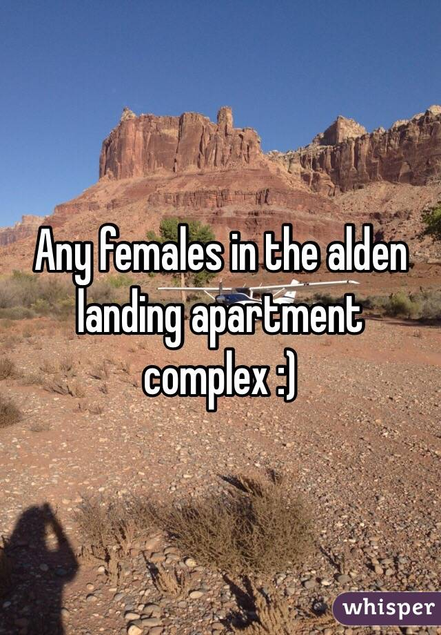 Any females in the alden landing apartment complex :)
