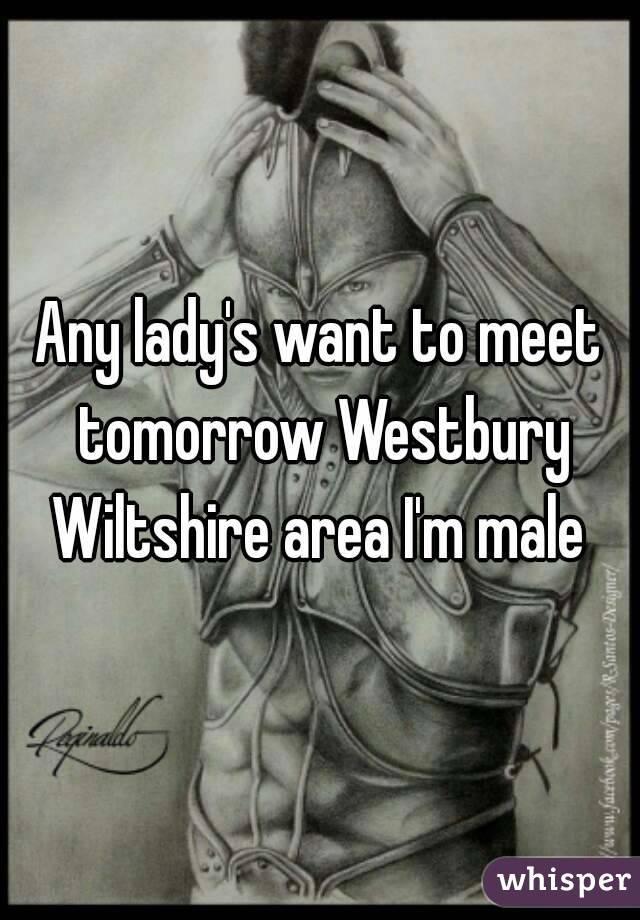 Any lady's want to meet tomorrow Westbury Wiltshire area I'm male