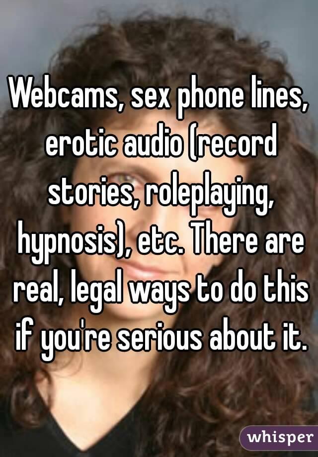 Erotic stories sex lines