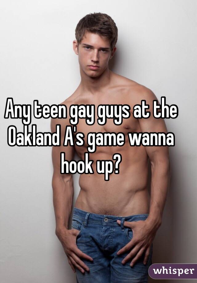 I Wanna Hook Up With A Guy