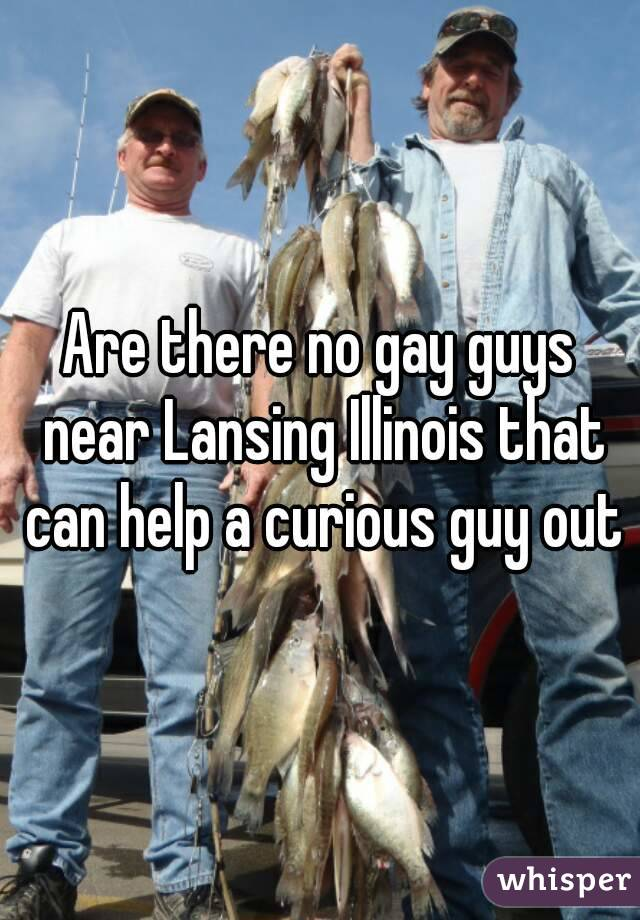 Are there no gay guys near Lansing Illinois that can help a curious guy out