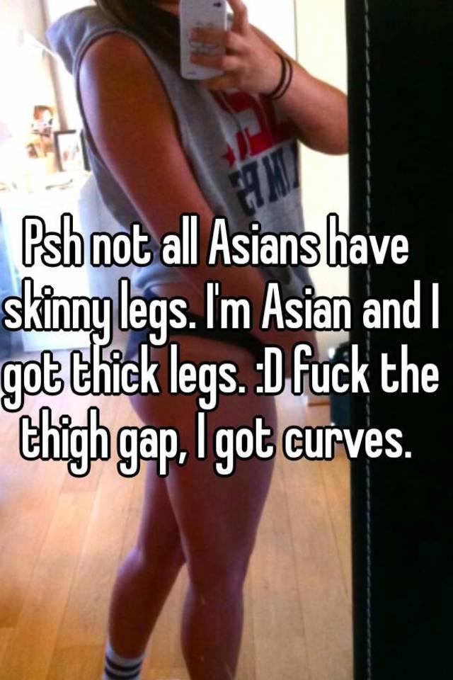 Have Skinny leg asian fuck