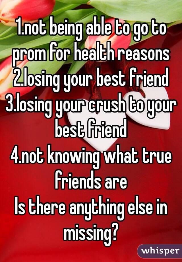 Missing a true friend