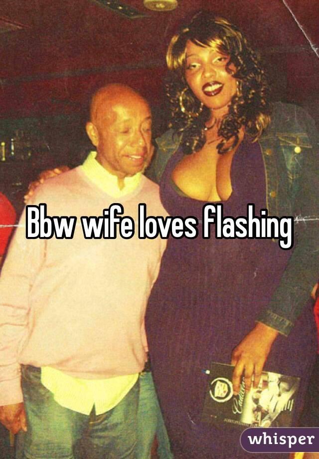 BBW wife loves it