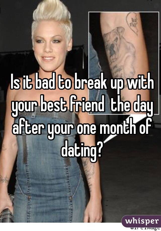 Dating after a bad break up