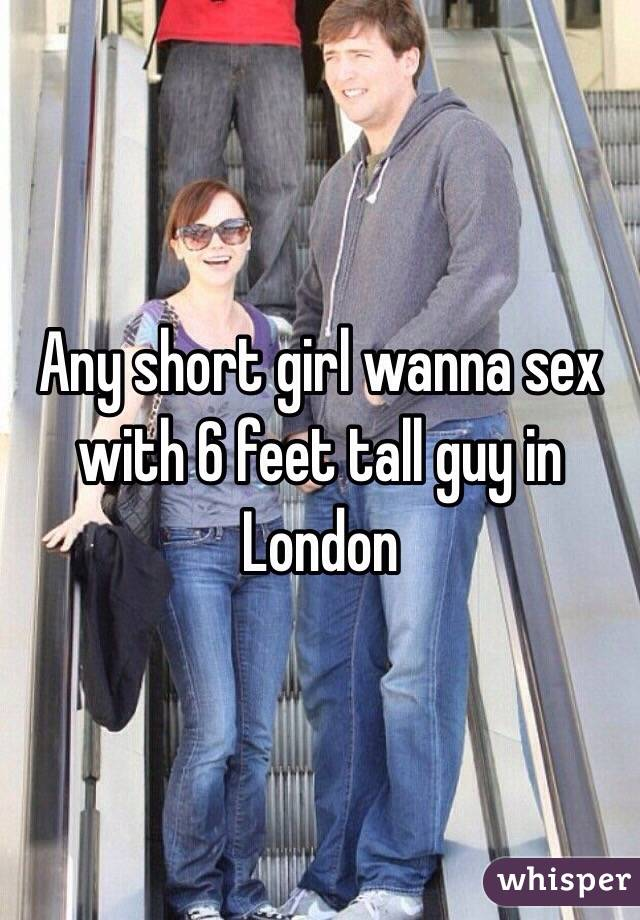 Is 6 feet tall for a guy