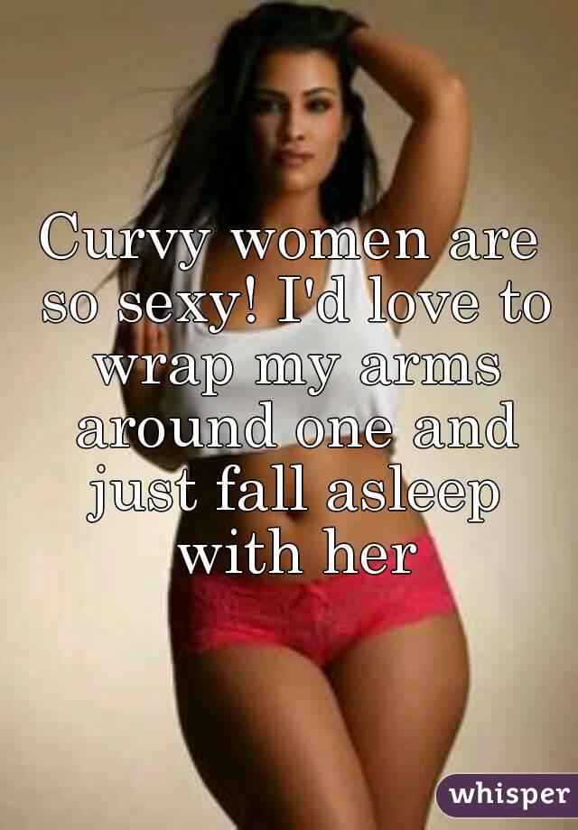 Sexy curvy lady