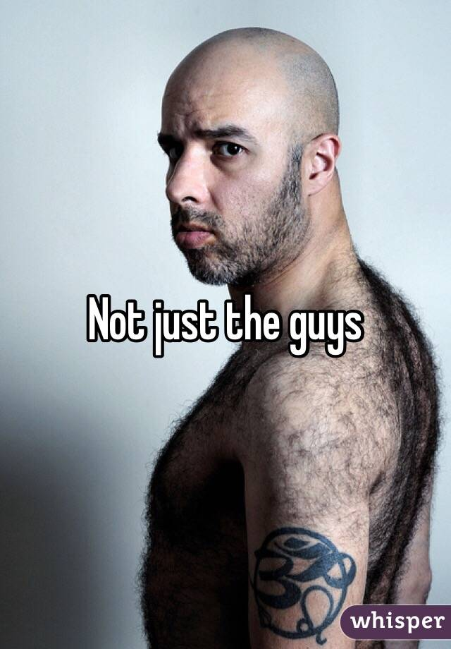 Not just the guys