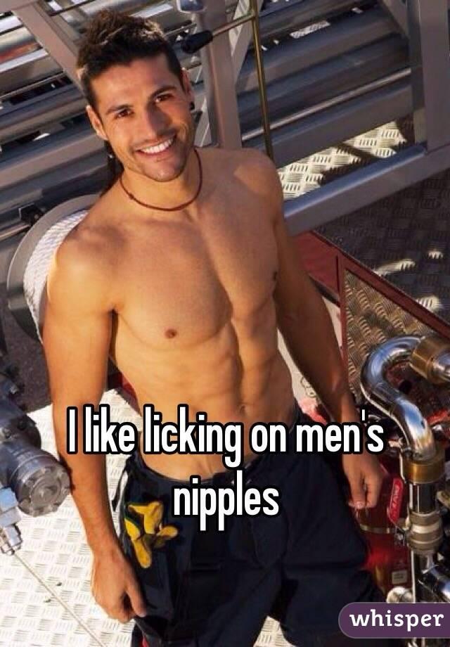Men Licking Mens Nipples