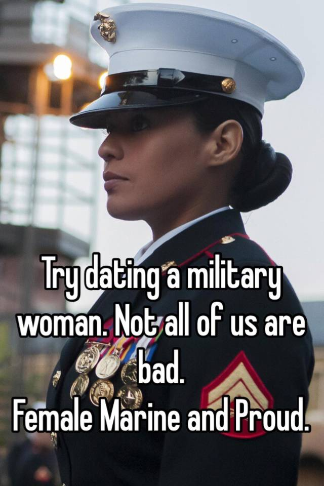 dating military woman