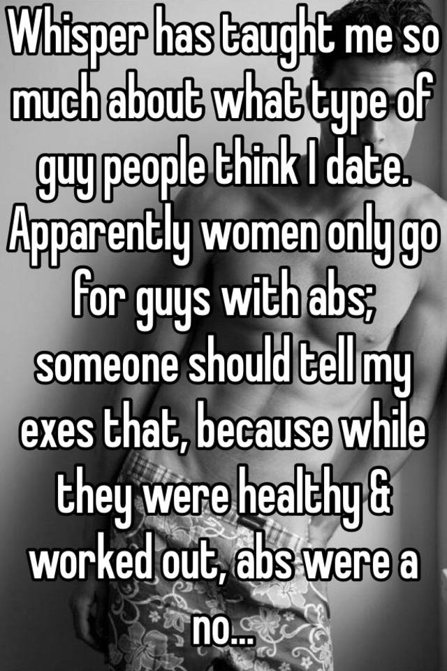 I Date Should What Guy Kind Of