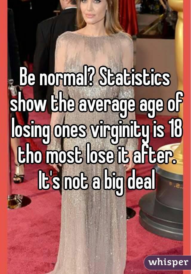 Losing virginity too big