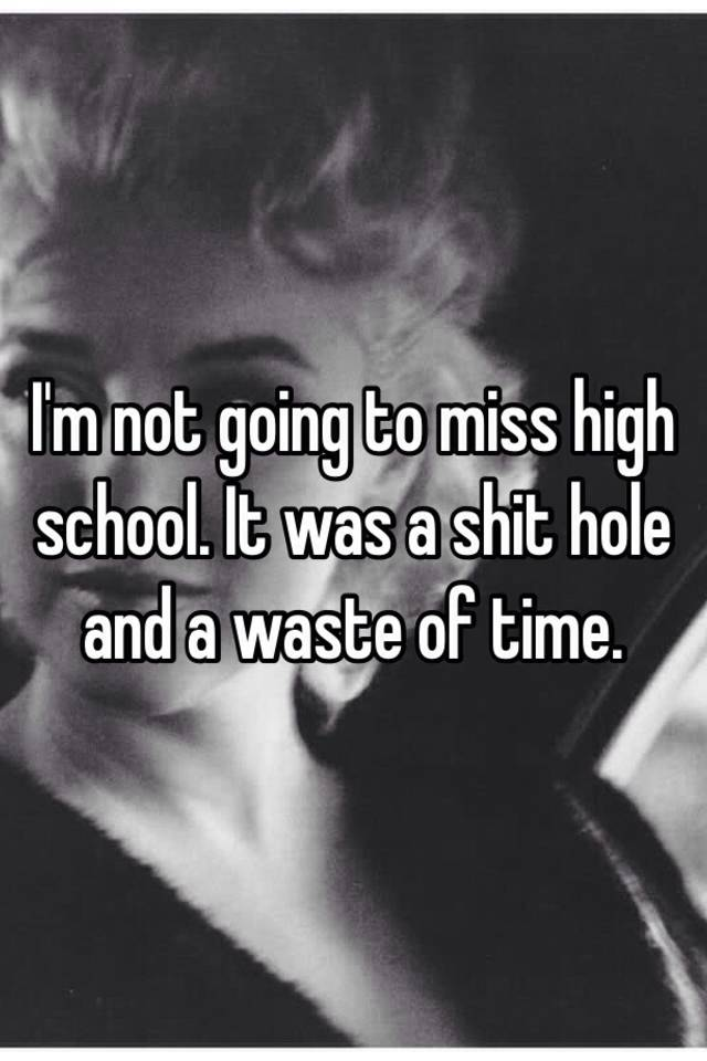 school is a waste of time