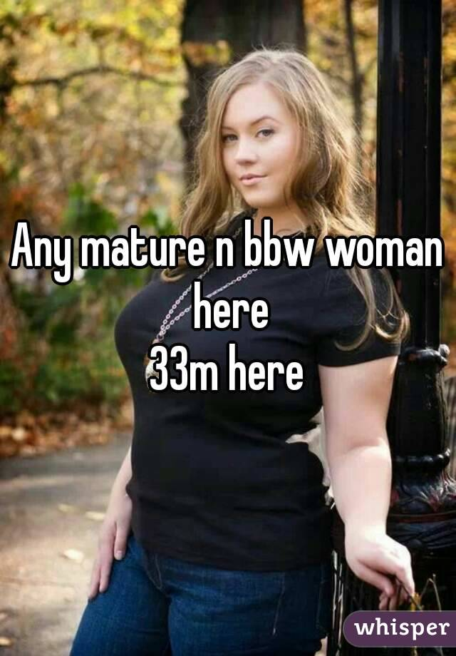 Bbw mature photos