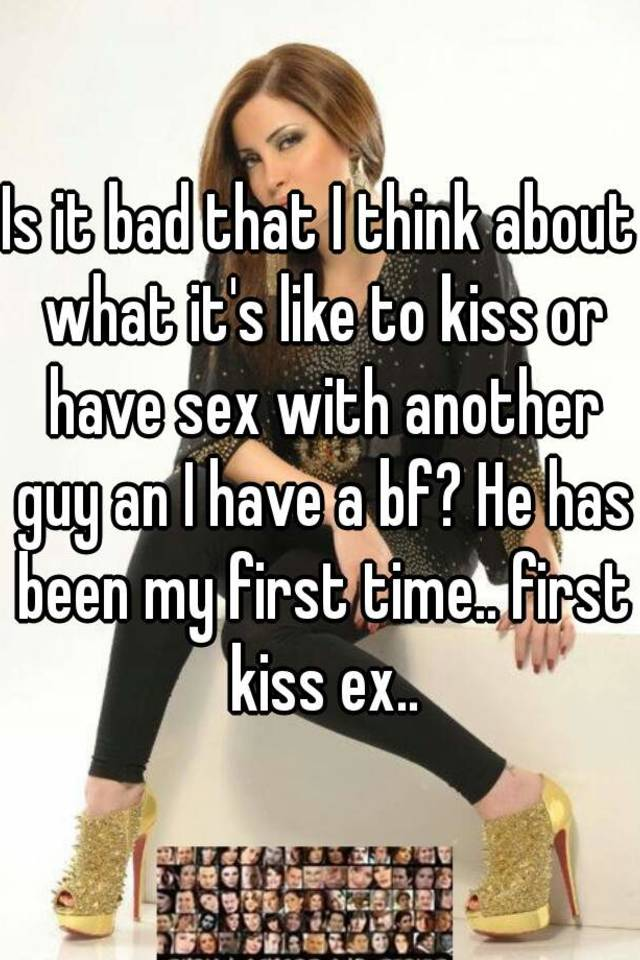 First sex with another guy