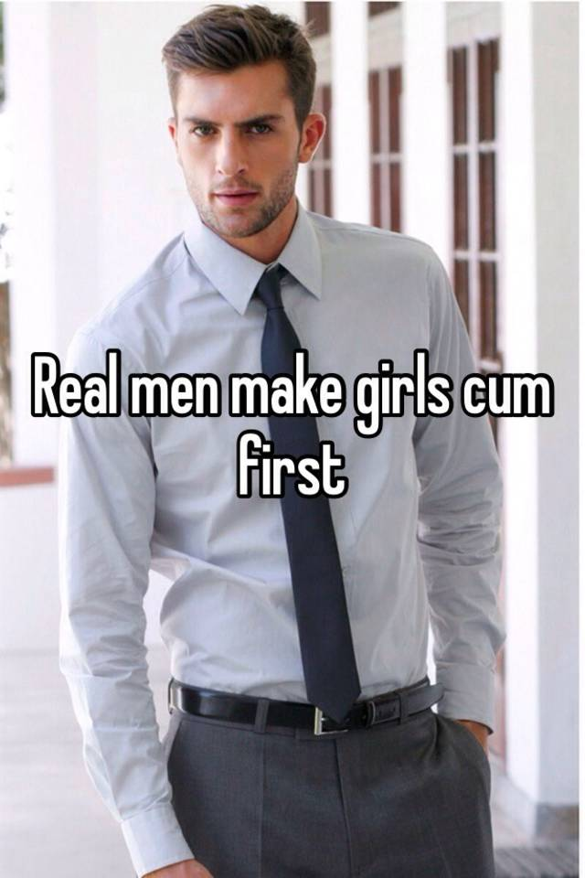 Ladies cum first