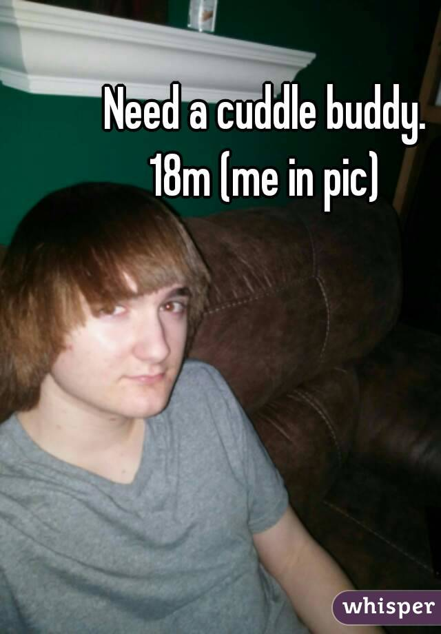 Need a cuddle buddy. 18m (me in pic)