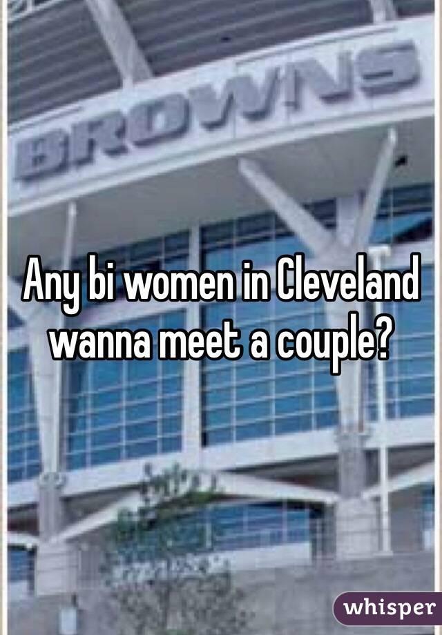 Any bi women in Cleveland wanna meet a couple?