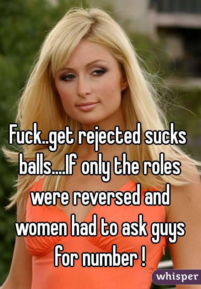 Fucking guys balls Women